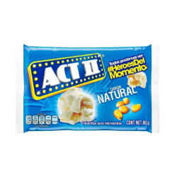Palomitas de maíz natural Act II 80 g